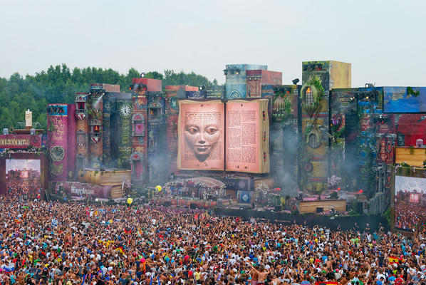 The book of wisdom - Scéne principale Tomorrowland 2012