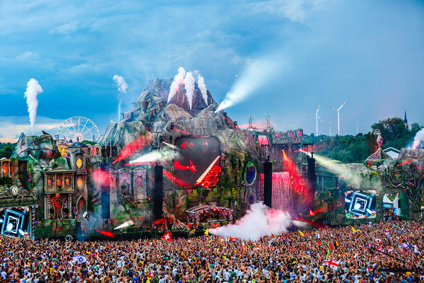 La Scène principale de Tomorrowland 2013