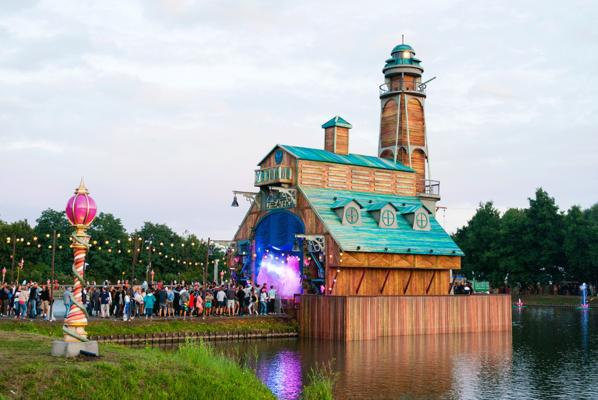 The Boat House - Tomorrowland 2015-2016